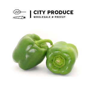 City Produce Green Capsicum Each